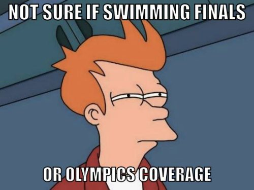 Ch9 Olympic Coverage Fry Meme