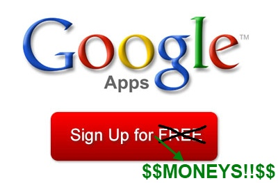 Google Apps Not Free