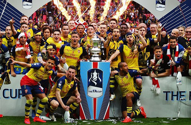 Arsenal win the FA Cup 2015