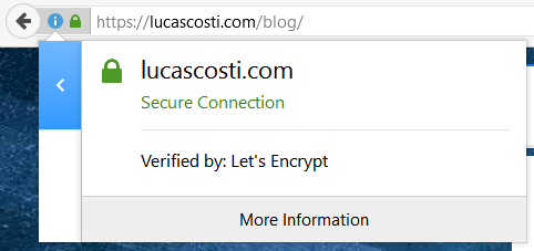 LucasCosti.com Secured